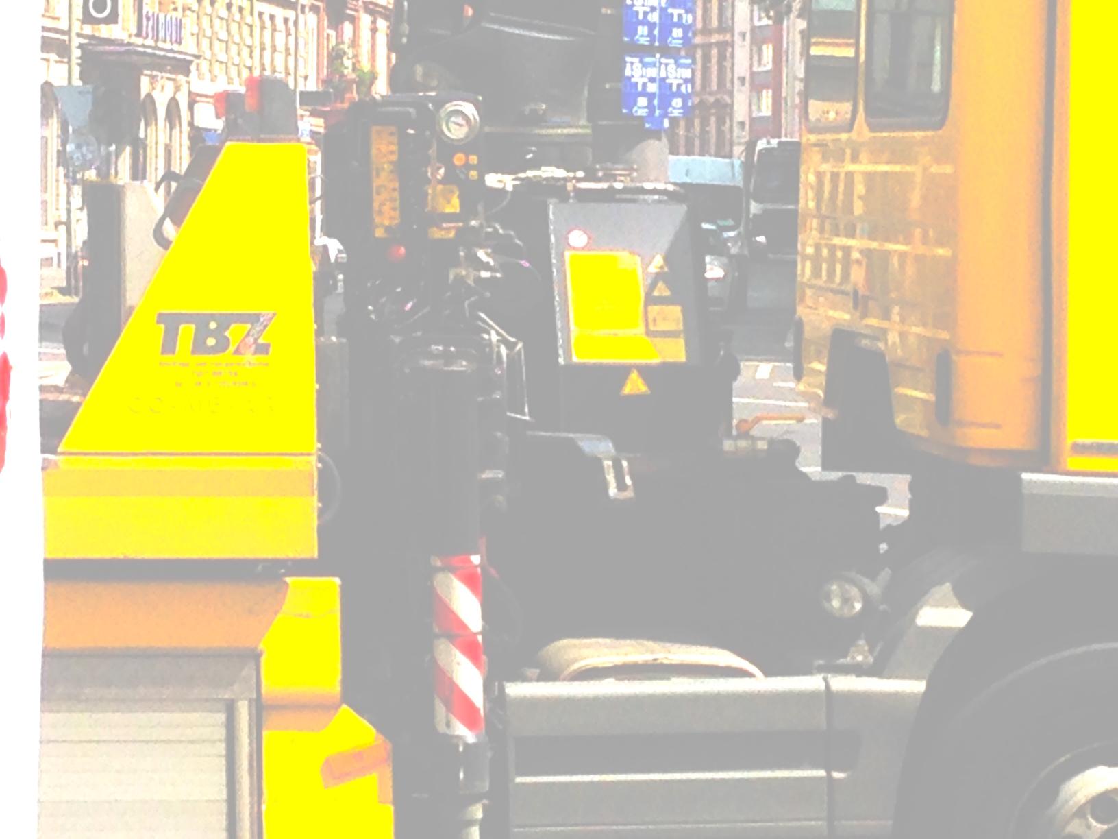 Crossover, Zwischenraum zwischen Lastkraftwagen und Anhaenger