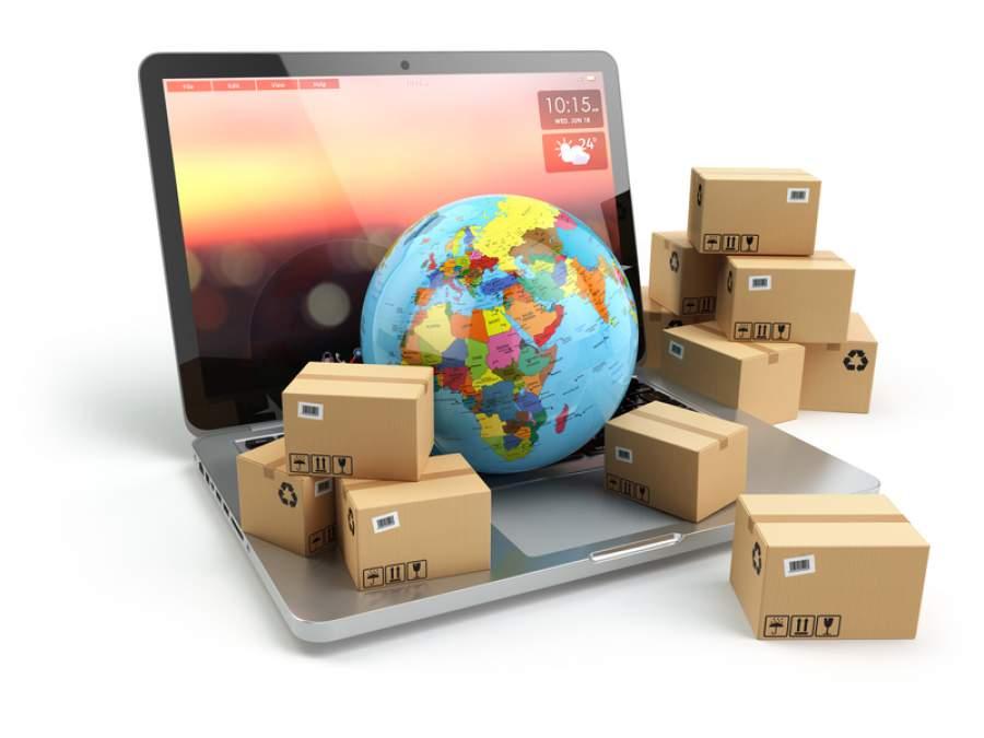Export, Exporte, Pakete, Post, Versand, Online Handel, Mittelstand, Internet
