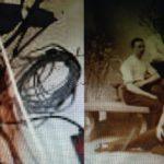 Schwarz-weiss-Foto der den Club der alten Maenner und ihre abstrakte Traeume zeigt