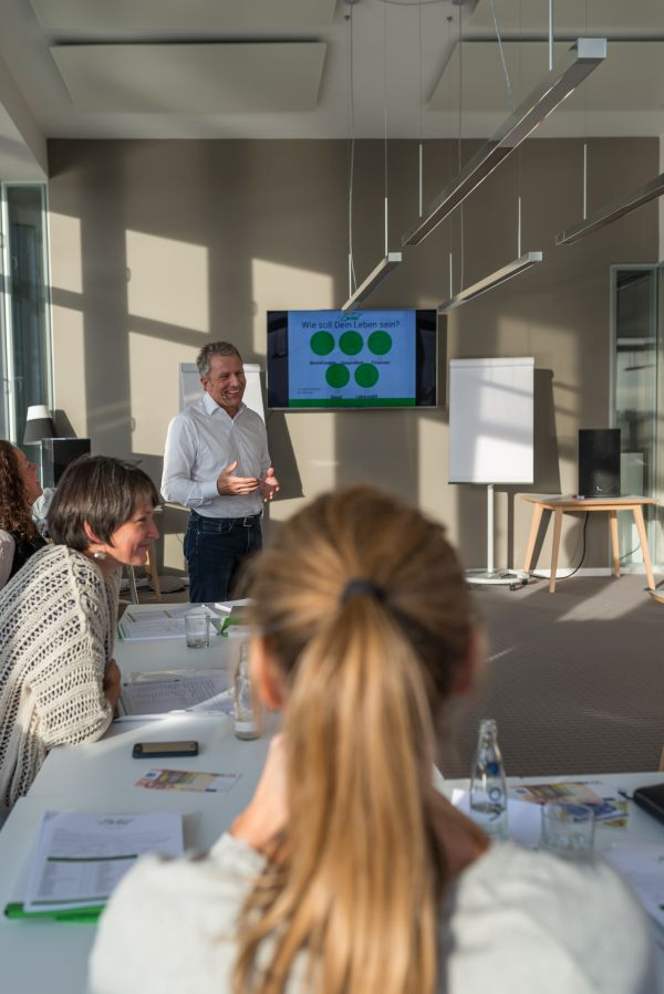 Andreas Enrico Brell, Seminar, Vortrag, More than Money, Lebensbereiche, Gleichgewicht, Kopf und Konto, Mehr Geld und mehr Leben