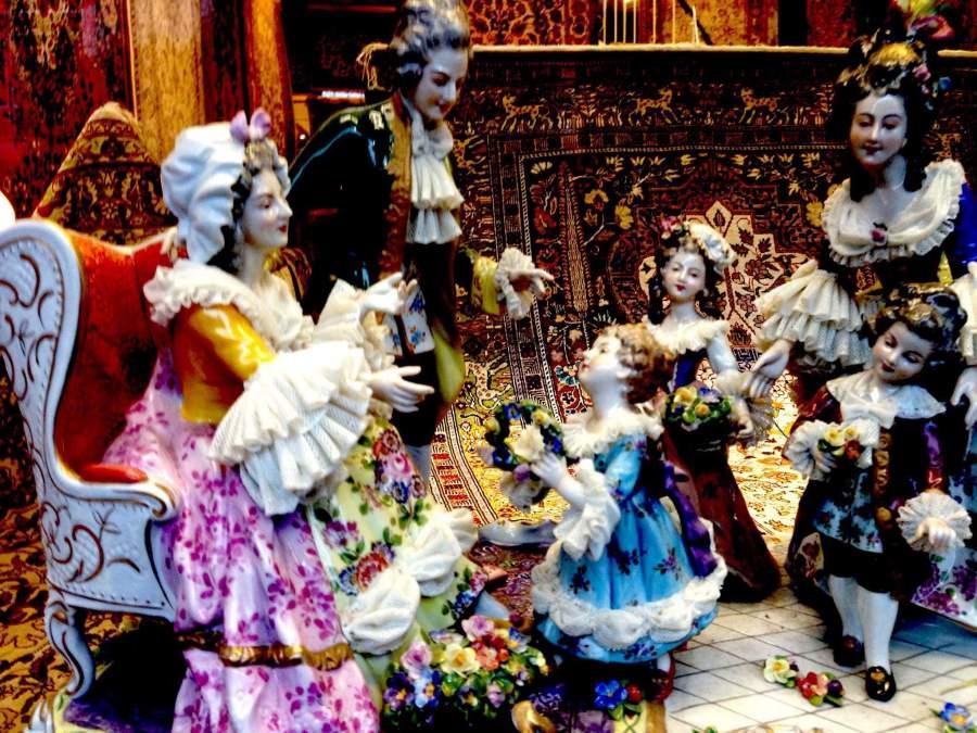 Puppen, Porzellan, Kammermusik, Mozart, Wien, Wiener Klassik, Klassik, häuslich, Musik