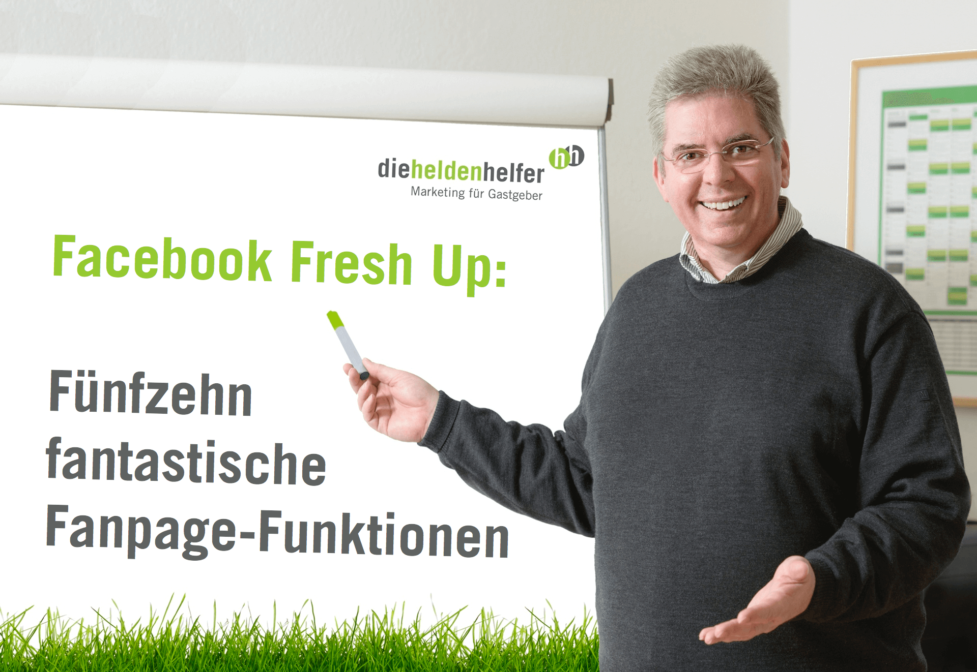 Andreas Pfeifer, Social Media Sommer-Camp, Facebook Fresh Up, Fanpage, Heldenhelfer