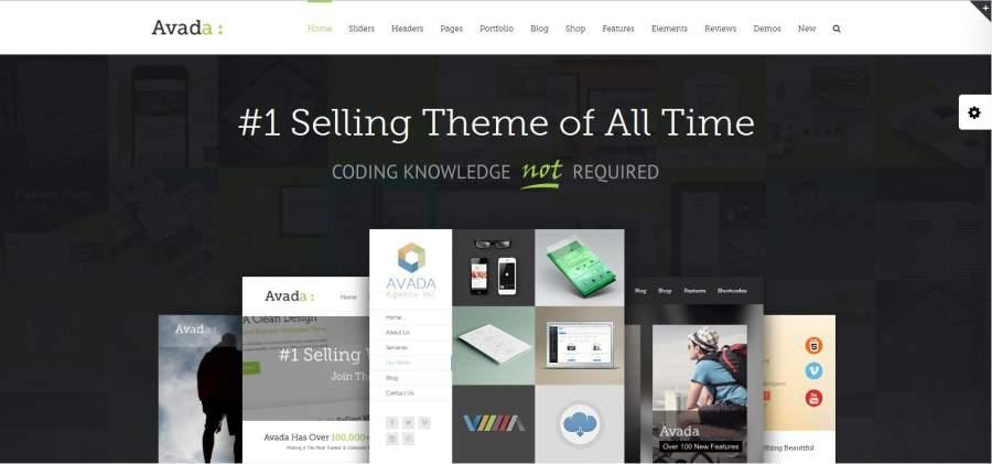 Avada, Avada Theme, die besten WordPress Themes für den Sommer 2017, Themeforest, Themes