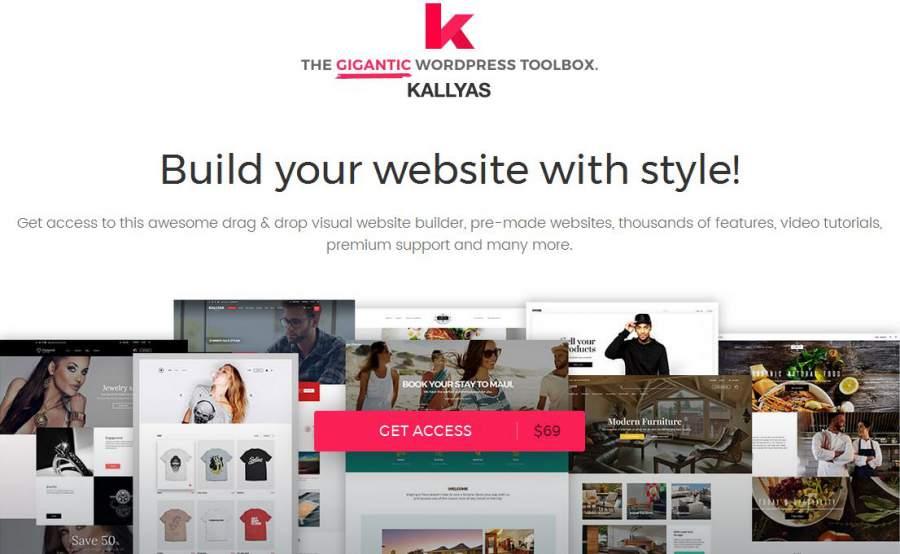 Kallyas, Kallyas Theme, die besten WordPress Themes für den Sommer 2017, Themeforest, Themes