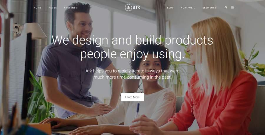The Ark, Ark, Ark Theme, die besten WordPress Themes für den Sommer 2017, Themeforest, Themes