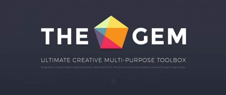 TheGem, The Gem Theme, Gem Theme, Juwel, die besten WordPress Themes für den Sommer 2017, Themeforest, Themes