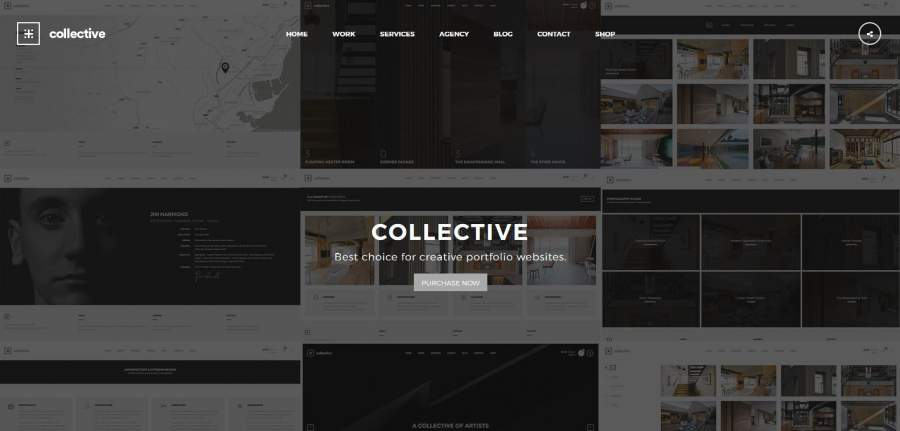 Portfolio Portfolio Theme, Collective