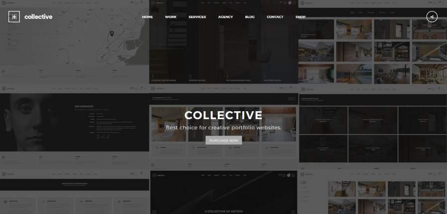 Portfolio Portfolio Theme, Collective