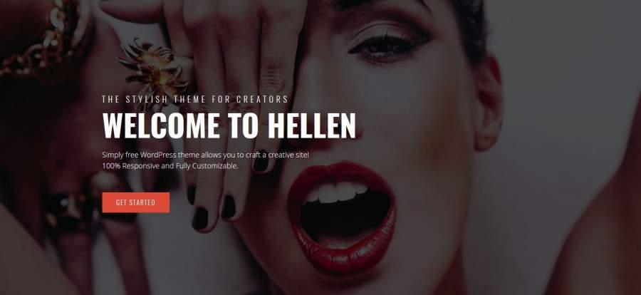 Portfolio Portfolio Theme, Hellen