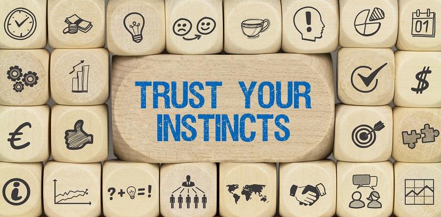 Entscheidungen, Bauchgefühl, Bauchgefuehl, Intuition, Instinkt, Vertrauen