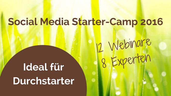 Social Media Starter-Camp 2016, Sabine Piarry, Piarry Akademie