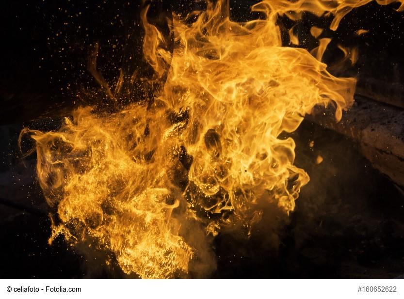 Feuer, Brennen, Flammen, Organizational Flow