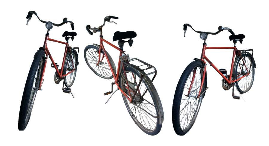 Fahrrad, Reise, Zeitreise, Willkommen im Morgen, mit dem roten Fahrrad, Hoechst AG, Wir-Gefühl, Gemeinschaftsgefühl