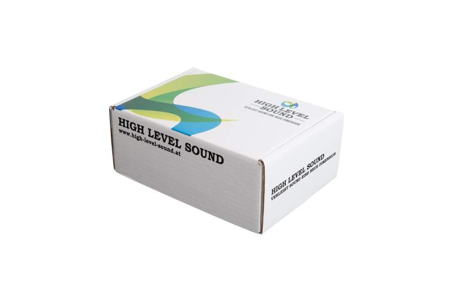 High Level, Versandkarton, Produktkarton, individuell bedruckte Verpackungen, Vollkarton nach Maß, Branding