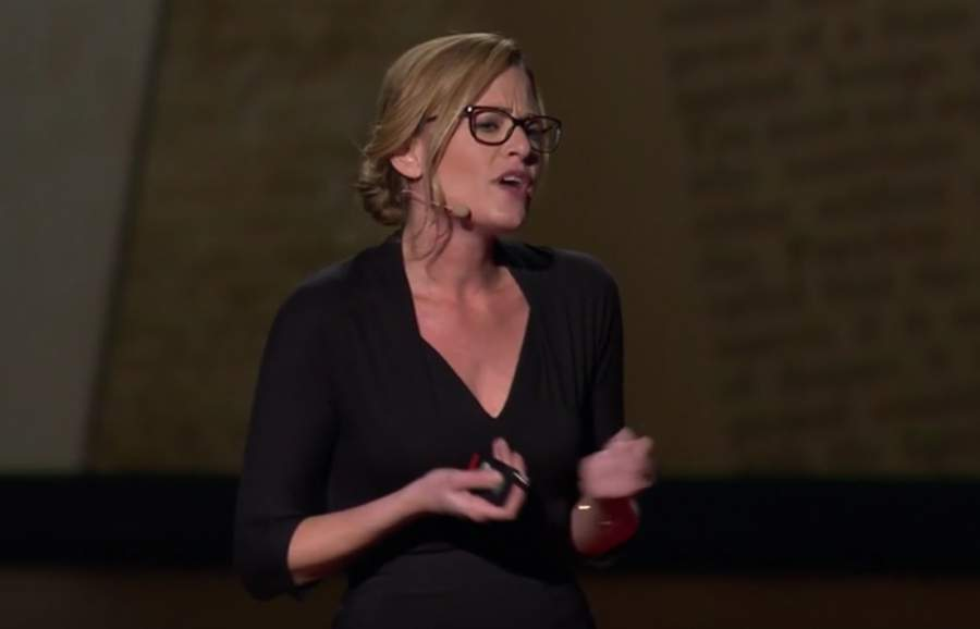 Tali Sharot, TED-Talk, Optimismus, Realismus, Kontraste, Voreingenommenheit, Vortrag, Screenshot