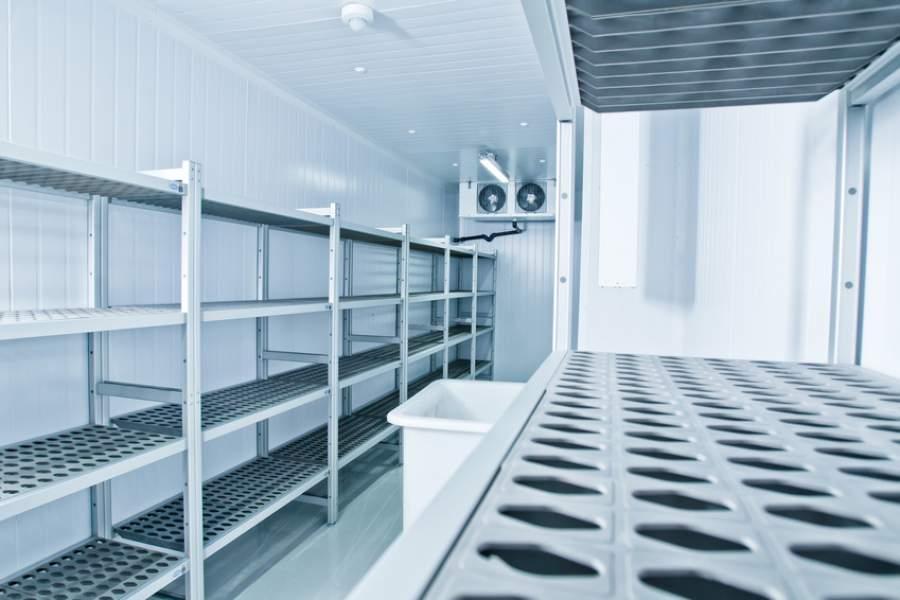Professionelle Kühlzelle, Tiefkühlung, Kühlraum, Frosten, Kältetechnik, Kälte-Berlin