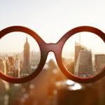 Perspektivwechsel, kollektive Intelligenz, Brille, Skyline, Perspektive, Sichtweise