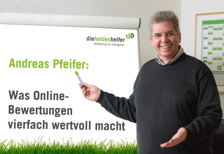 Andreas Pfeifer, Social Media Sommer-Camp 2018, Online Bewertungen, Heldenhelfer