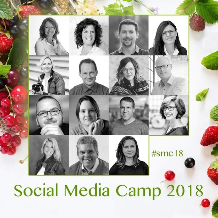 Social Media Sommer-Camp 2018, 23.-27. Juli 2018, Webinare, Internetauftritt