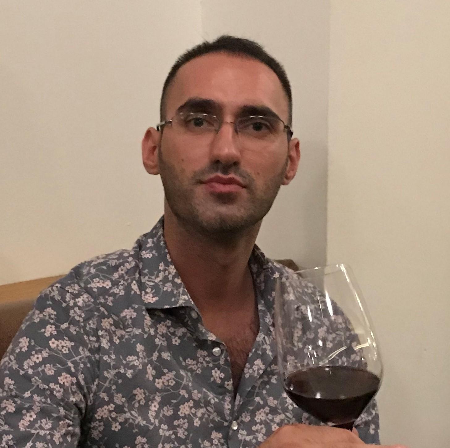 Mann, Wein, Calice d'Oro, Deniz Cakal