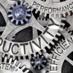 Zahnräder, Produktivität, Produktivitätsrückgang, Productivity Slowdown