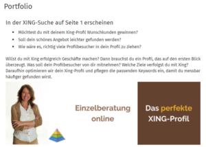 agitano, social media sommer-camp 2019, sabine piarry, webinar, xing-portfolio