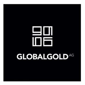 Global Gold AG Logo schwarz
